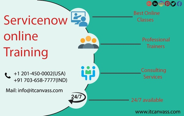 What are some good training centers for 'servicenow' in