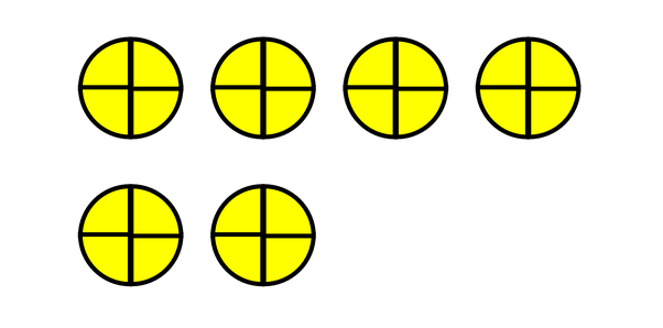 what is six divided by one fourth quora