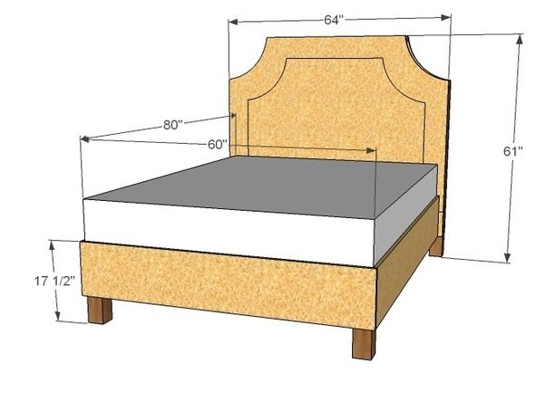 Great Queen Size Bed Frame Decoration