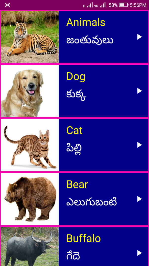 How to learn english from telugu quora 5 can learn english even without net connection 6 each english word is given with its meaning in telugu download fandeluxe Gallery