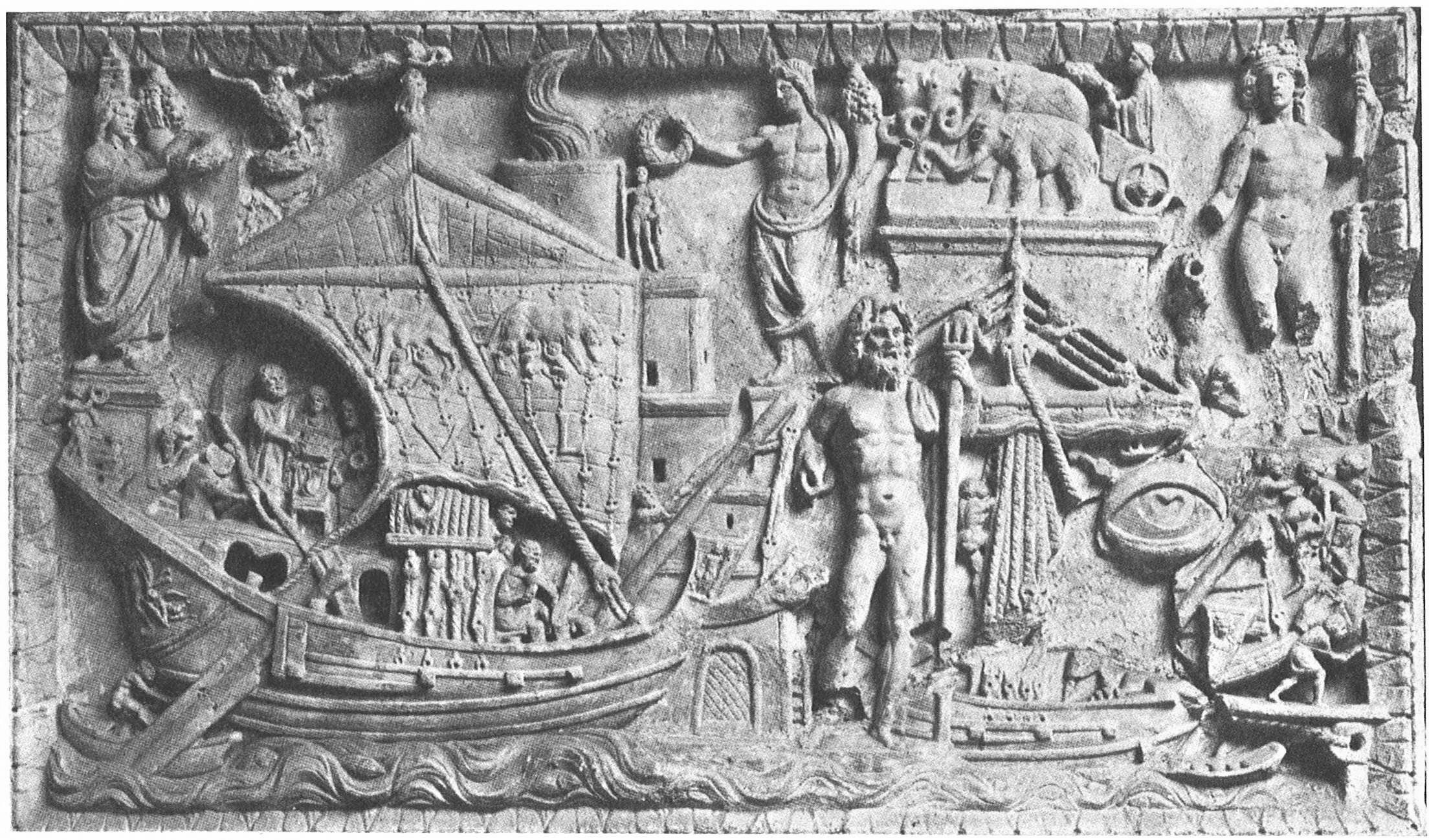 Image result for frieze of roman sailing ships