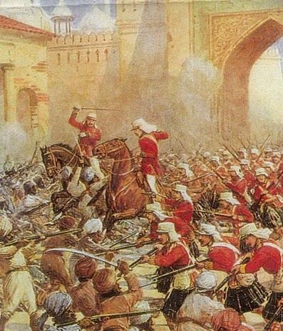 indian rebellion of 1857 The causes of the indian mutiny which erupted in meerut on may 10, 1857, and raged across north and central india for more than a year, have long been the subject of indo-british historical debate.