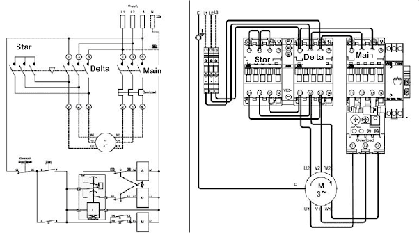 star motor wiring diagram will a 3 phase motor still work without star or delta  quora motor star delta wiring diagram pdf will a 3 phase motor still work without