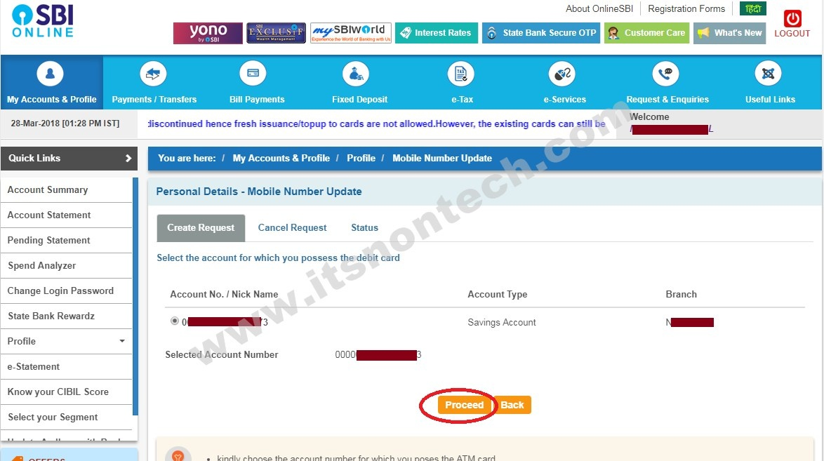 How to change my SBI register mobile number - Quora