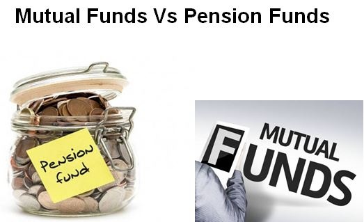 What is the difference between mutual funds and pension