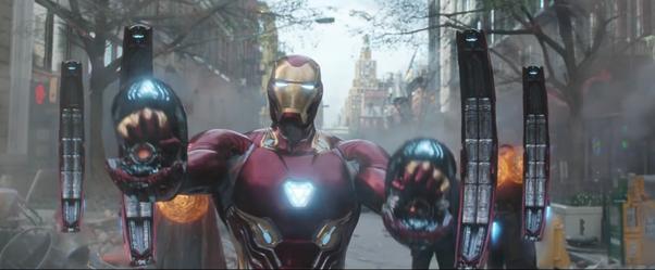 Iron Mans Nanotechnology Suit — BCMA