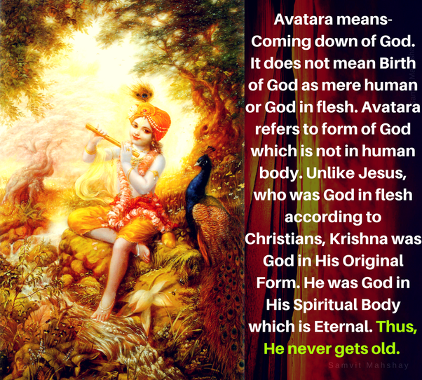 Did Krishna got old while on earth? - Quora
