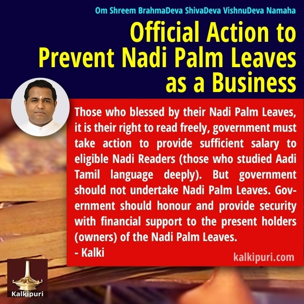 Why did ancient sages write the destiny of a few people on Nadi palm
