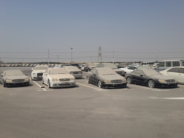 What Happens To All The Abandoned Cars In Dubai Can I Import Those