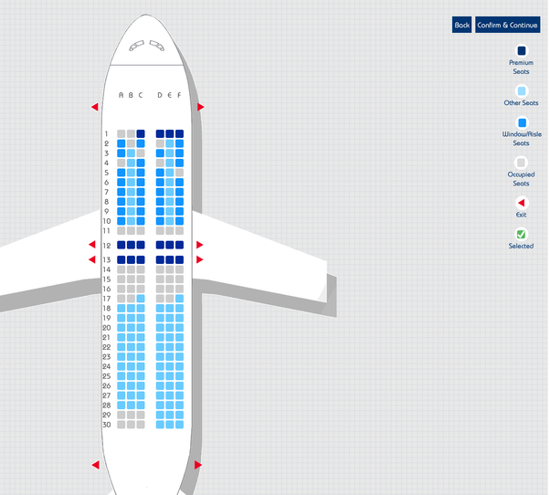 Why Do Indigo Flights Have Seat Numbers 1 2 And 3