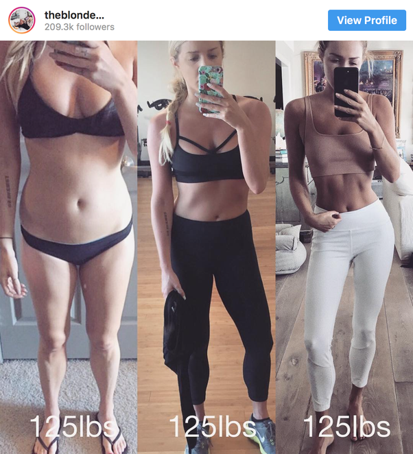 What is a healthy weight for a 5'4″ 18-year-old girl? - Quora