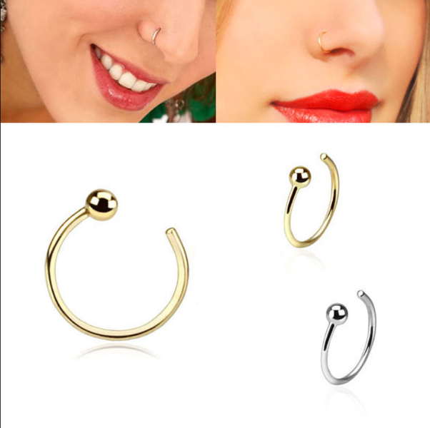 Can An Earring Be Used As A Nose Ring How Quora