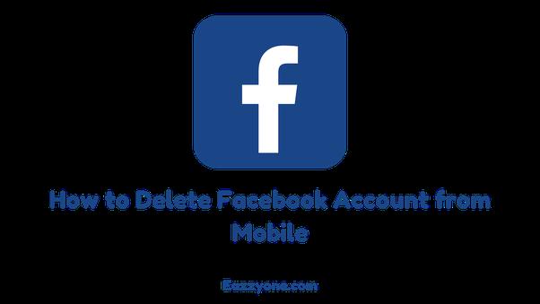 How to delete Facebook account temporarily - Quora