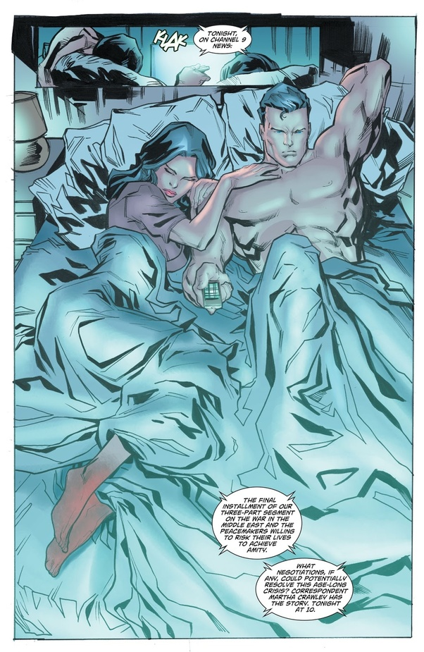 Cannot be! super man and wonder woman naked properties turns