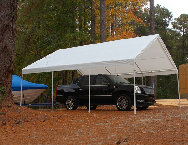 Quictent 10u0027 x 20u0027 Heavy Duty White Carport/Canopy/Party Tent/Car Shelter : 20x10 tent - memphite.com