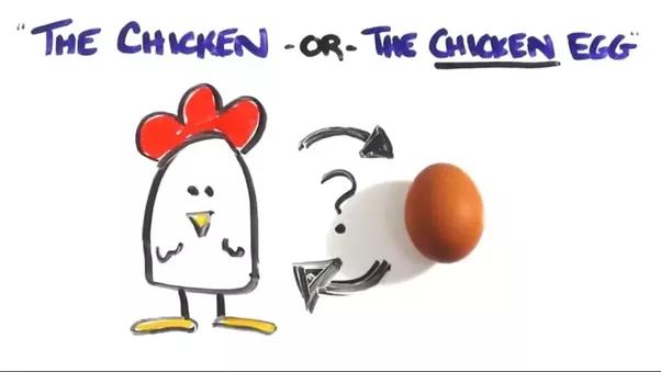 Dating sites chicken egg problem