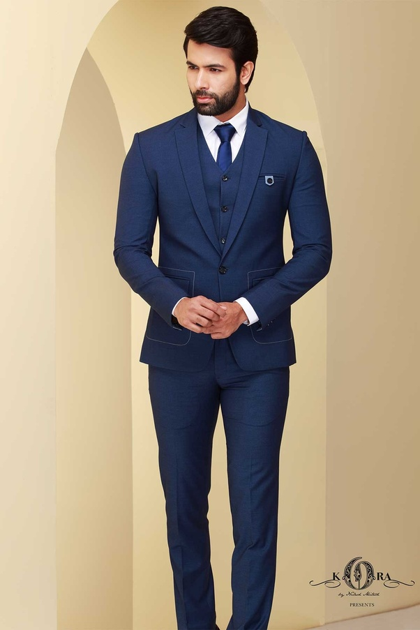 70e1559e5fc Which color shoes should I wear with blue suit  - Quora