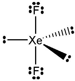 What is the molecular geometry of XeF2? - Quora