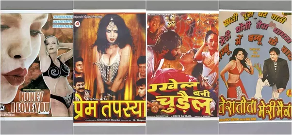 However They Had Really Artistic Movie Posters Which W K Advertising Agency Realized And Recently Held A Show Of In Delhi India