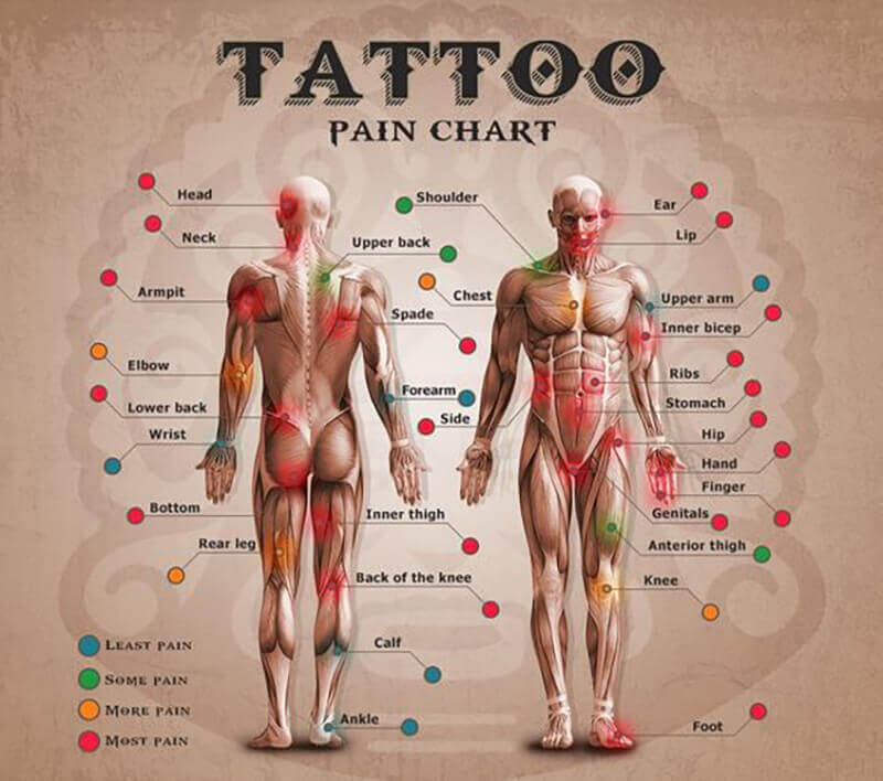 Is Getting A Tattoo On A Calf Painful Quora