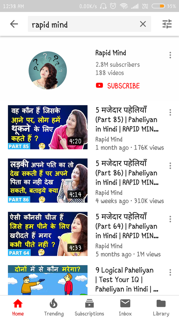 How good are Indian YouTubers compared to YouTubers from