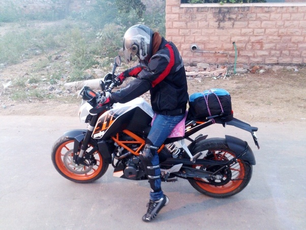 motorcycles and motorcycling is the ktm 390 duke fit for touring