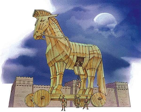 How did the Greeks exit their Trojan horse? - Quora