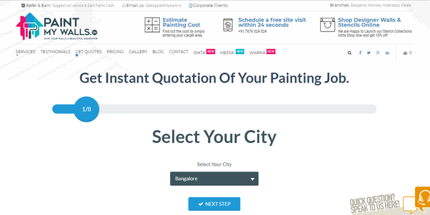 What Is The Labor Only Cost Of Painters In Bangalore Quora