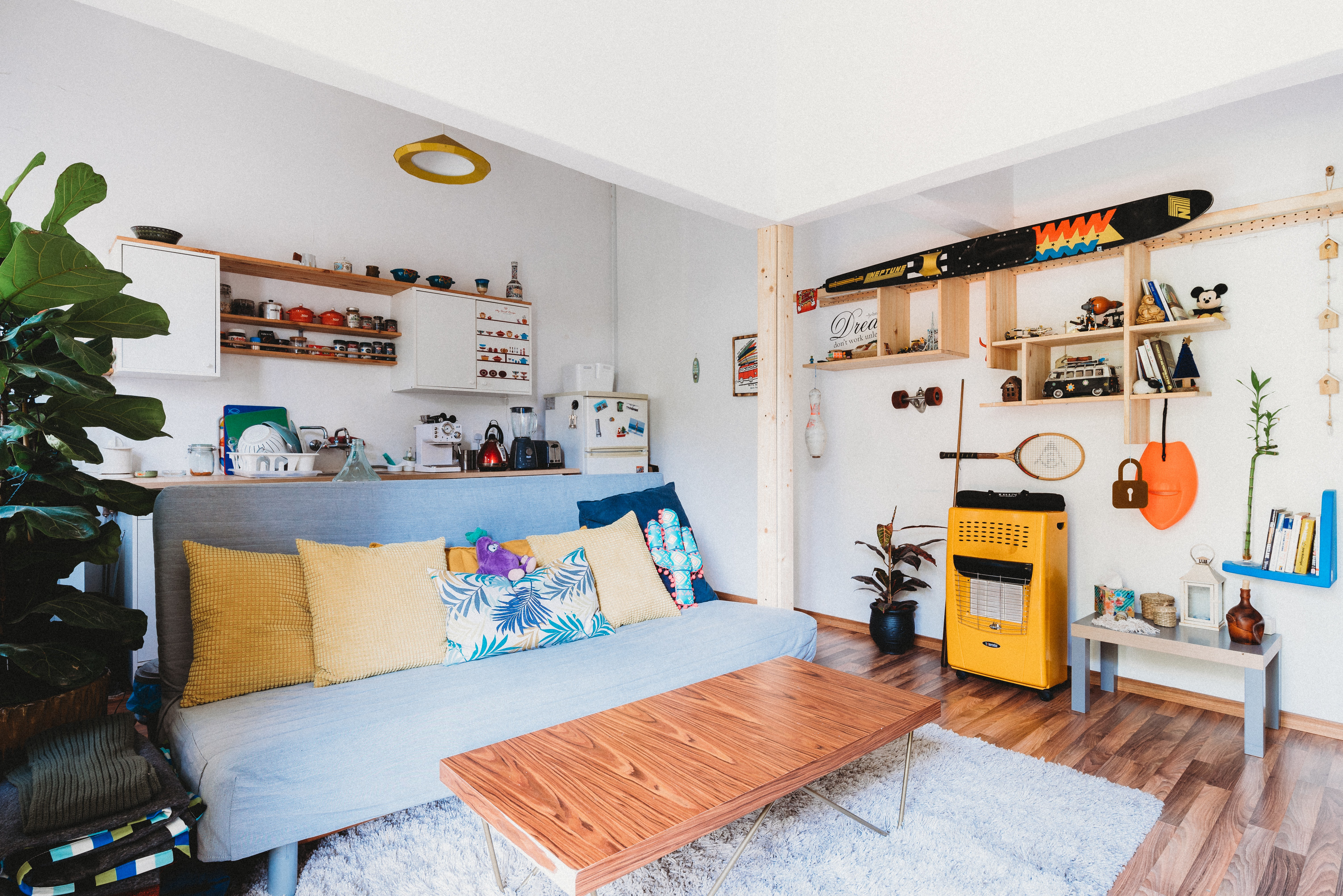How to design a small kitchen living room combo   Quora