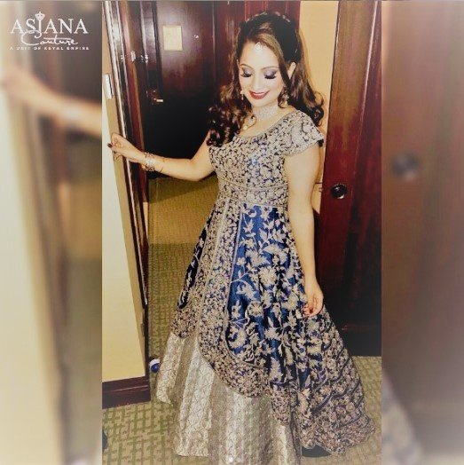 What are some good ideas for Indian wedding reception dresses? - Quora