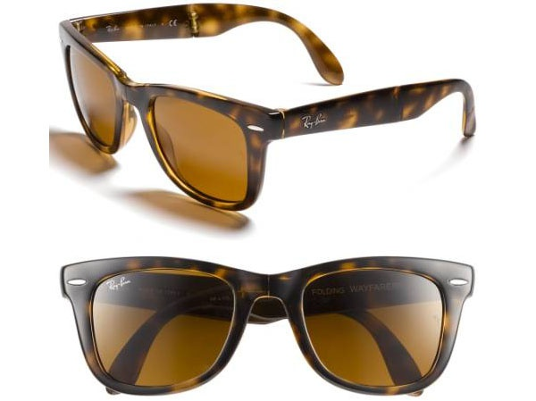 f378de7fc4 These are Standard 50mm Folding Wayfarer Sunglasses by RAY-BAN and sell for   153.00. These are easily affordable