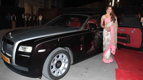 Why was Mallika Sherawat denied from owning a Rolls Royce, whereas