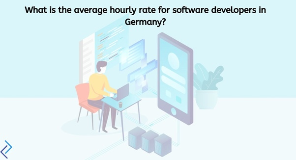 What is the average hourly rate for software developers in