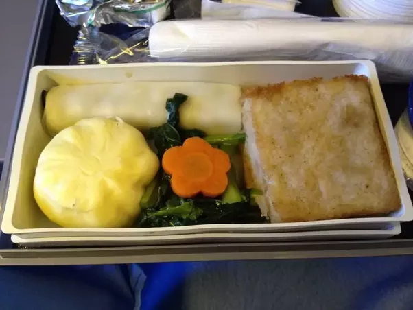 Has anyone ordered a vegetarian meal on a plane quora i swapped some of the items with my friend who order another kind of western vegetarian meal that comes with mushroom carrots broccoli and potatoes forumfinder Images