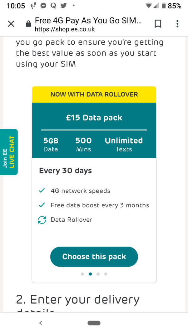 free number to call ee from mobile