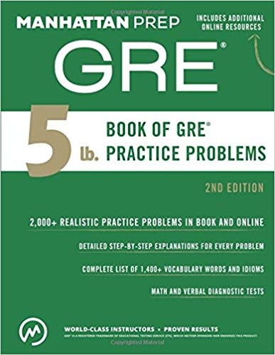 Best GRE Books 2019 - 2020 - MBA Crystal Ball