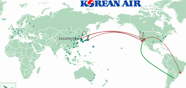 Brazil: Why does Korean Airlines have a direct flight from Los ...