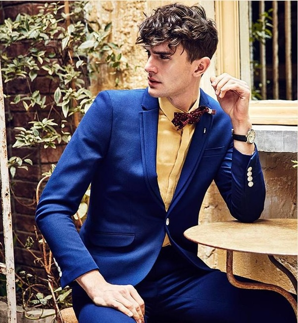 Can I Wear Blue Suit, Gold Shirt And Red Tie?