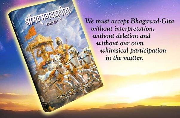 How many slokas does the Bhagavad Gita contain? - Quora