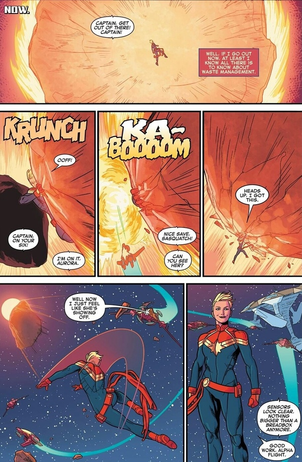 Is Captain Marvel really the strongest character in the Marvel