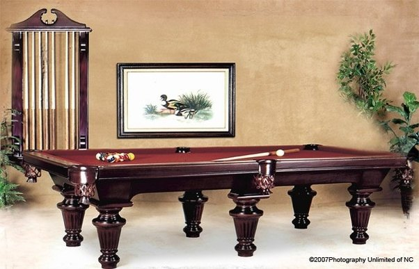 What Is The Best High End Pool Table Brand Quora - Pool table cabinet
