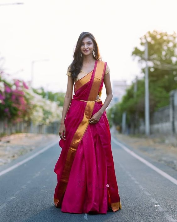 Which saree draping style is the most unique? - Quora