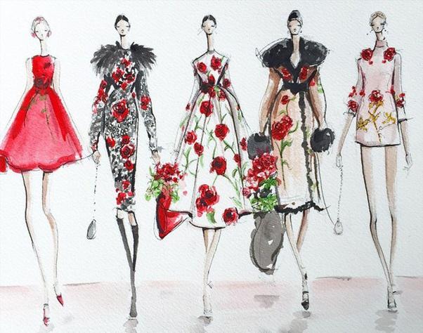 What Is Fashion Illustration Quora