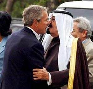 Why do us presidents kiss saudi kings hand quora george w bush did more than incline his head to speak to abdullah he held hands with him and even received a kiss i seem to recall little condemnation at m4hsunfo