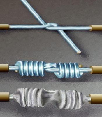 What are types of electrical wire splicing techniques? - Quora