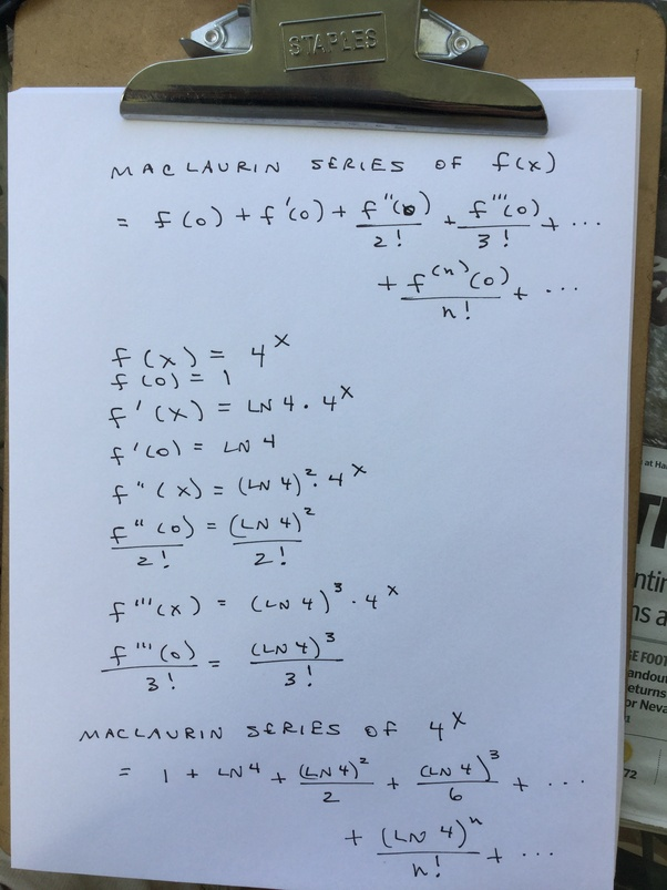How To Find Non-zero Terms In The Maclaurin series