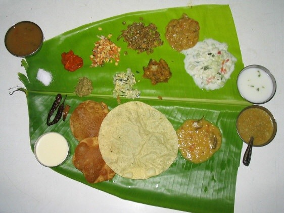Why Do Brahmin People Sprinkle Water While Having Food