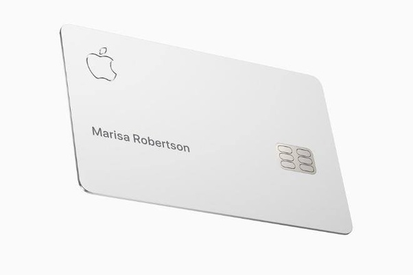 Do you think that Apple Credit Card will spell the death of