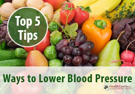 Quick Natural Ways To Lower Blood Pressure