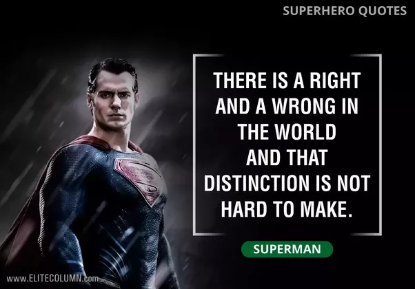 What is the best superhero movie quote?  Quora